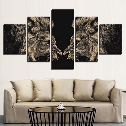 Lion Outdoor Wall Art