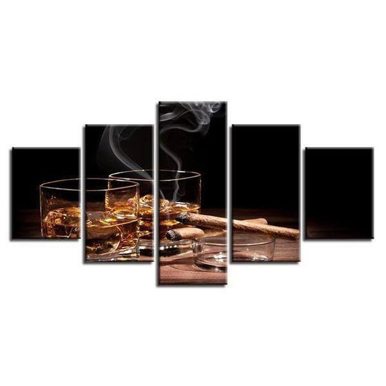 Liquor Wall Art Print