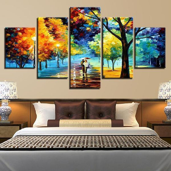Lively Trees Wall Art