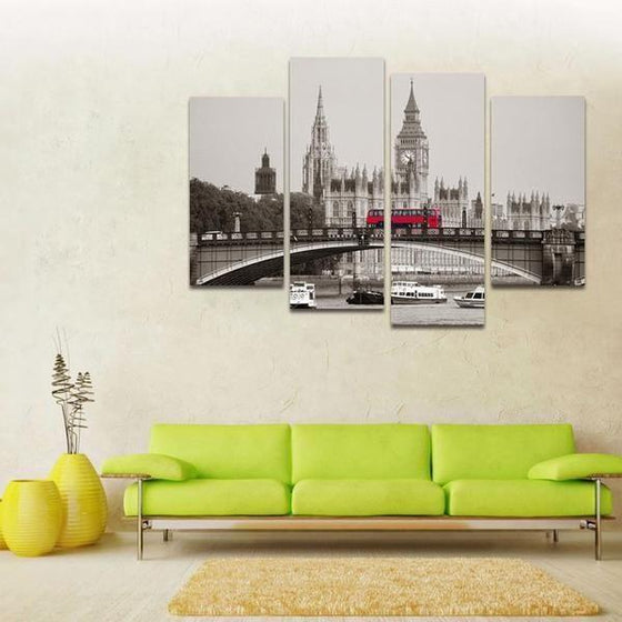 London City Canvas Wall Art Idea