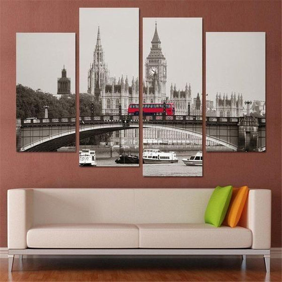 London City Canvas Wall Art