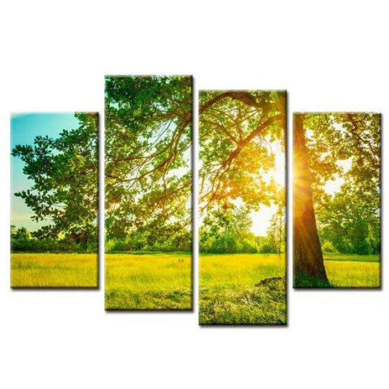 Lone Tree Scenic View Wall Art