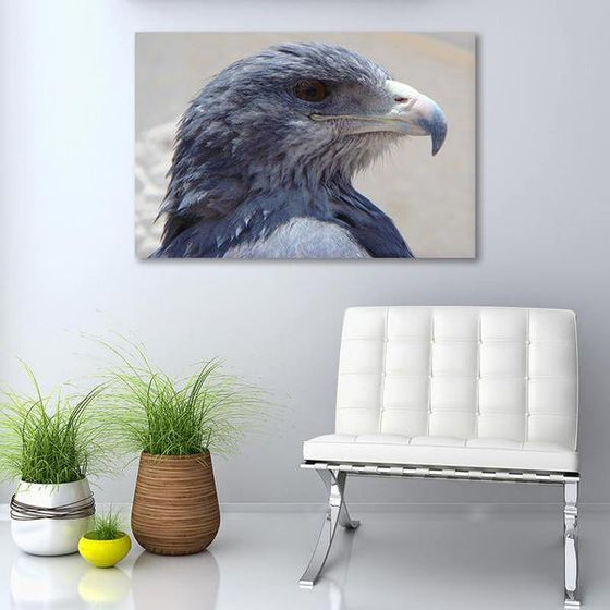 Magnificent Eagle Head Canvas Wall Art Living Room