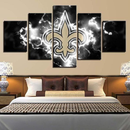 Metal Sports Wall Art Idea