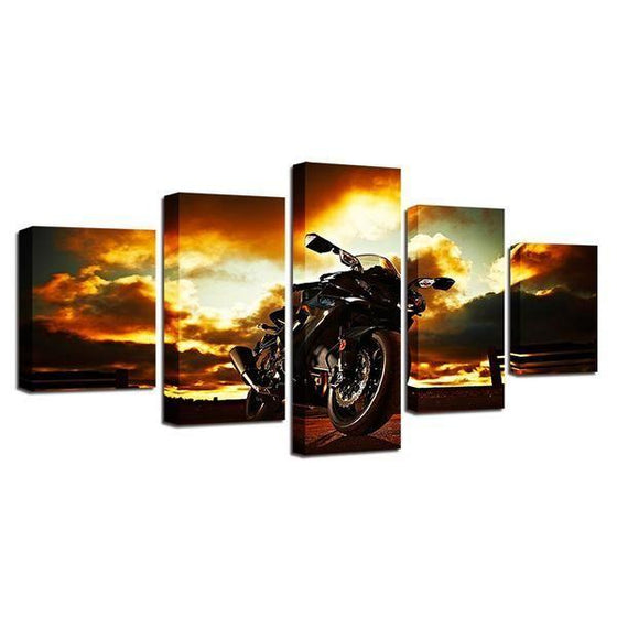 Metal Wall Art Motorcycles Decors