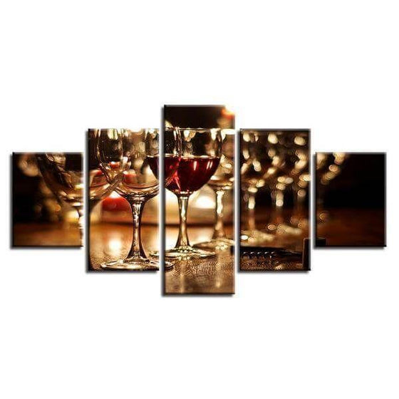 Metal Wine Wall Art Decors