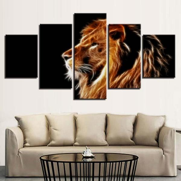Mighty Lion Wall Art