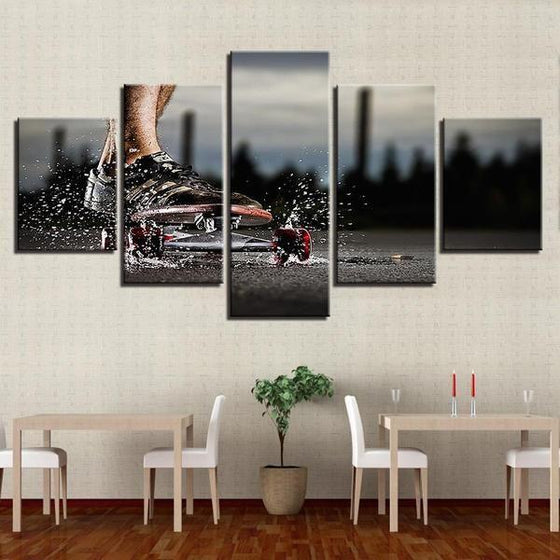 Modern Sports Themed Wall Art Ideas