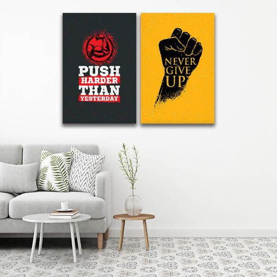 Motivational Quotes Canvas Wall Art Ideas