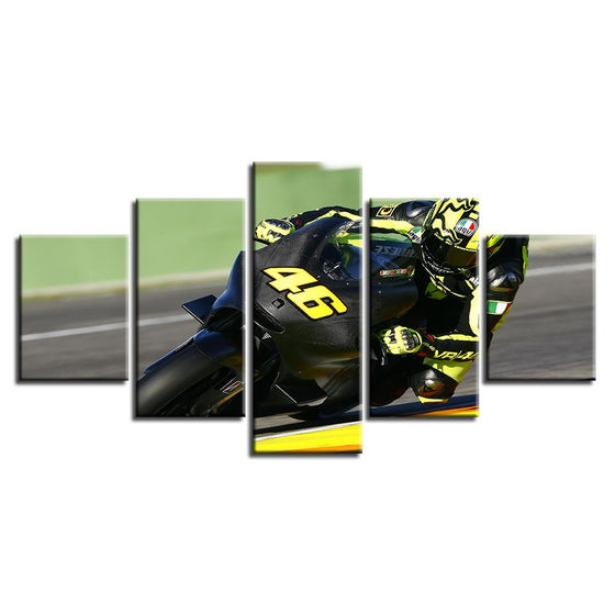 MotoGP VR46 Canvas Art