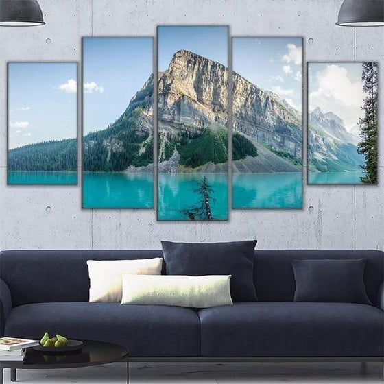 Move Mountains Wall Art Canvas