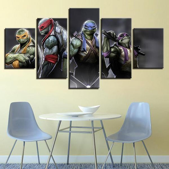 Movie Night Wall Art Canvas
