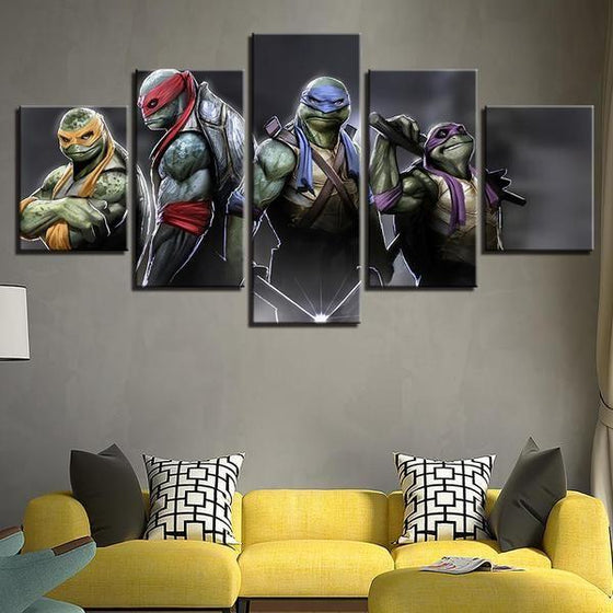 Movie Night Wall Art Canvases