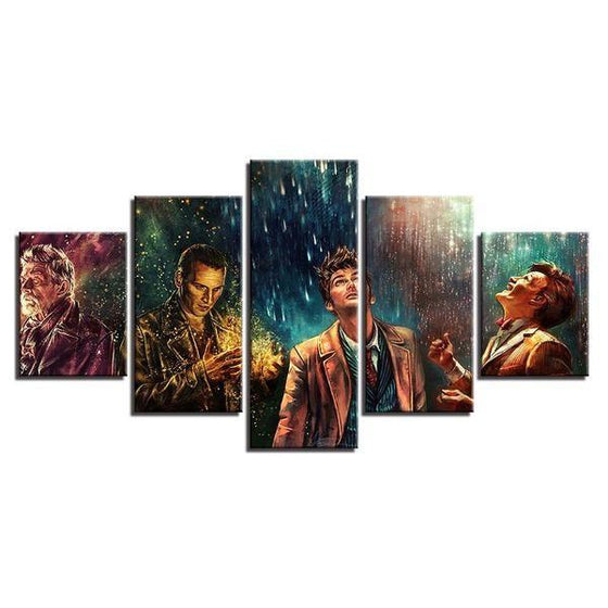 Doctor Who Movie Inspired Characters Canvas Wall Art Ideas