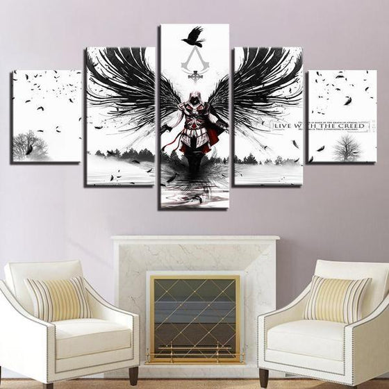 Assassins Creed Inspired Graphic Canvas Wall Art Decor