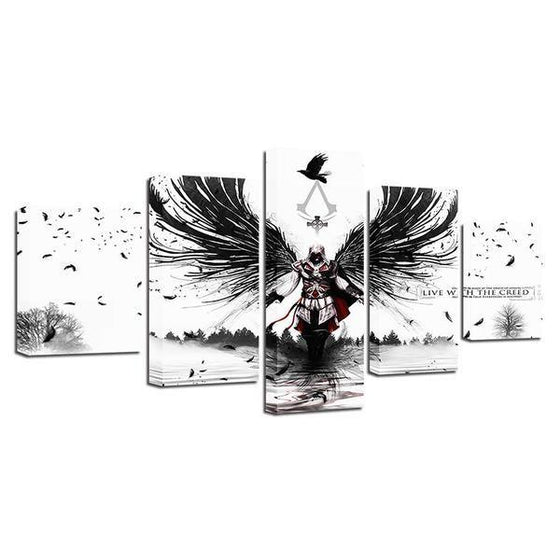 Assassins Creed Inspired Graphic Canvas Wall Art Prints