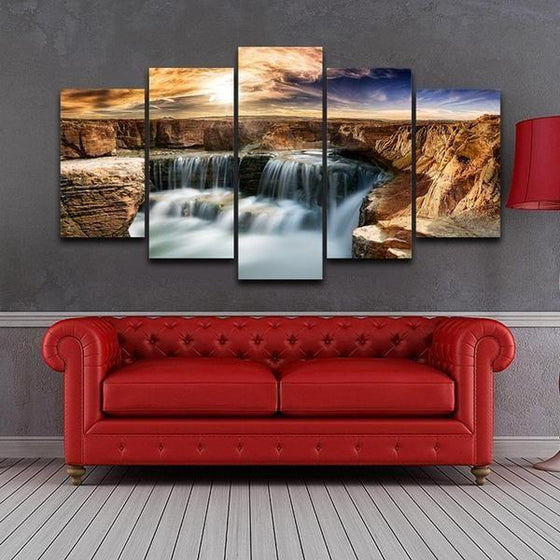 Moving Waterfall Wall Art Decor