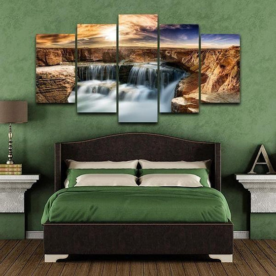 Moving Waterfall Wall Art Decors