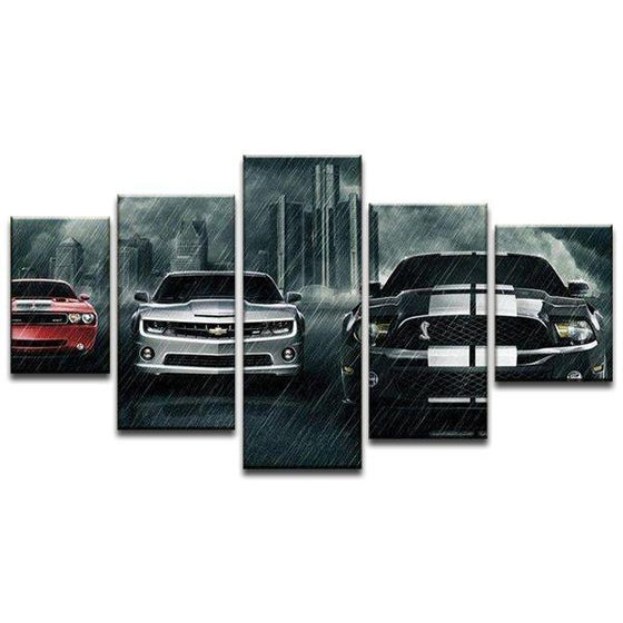 Super Cars Canvas Art