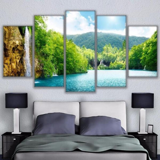 Nature Metal Wall Art Canvas