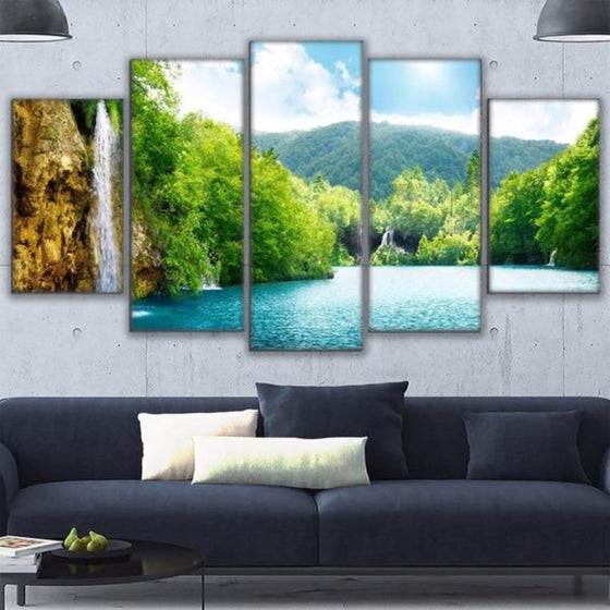 Nature Metal Wall Art Canvases