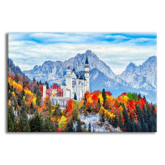 Neuschwanstein Castle Canvas Wall Art