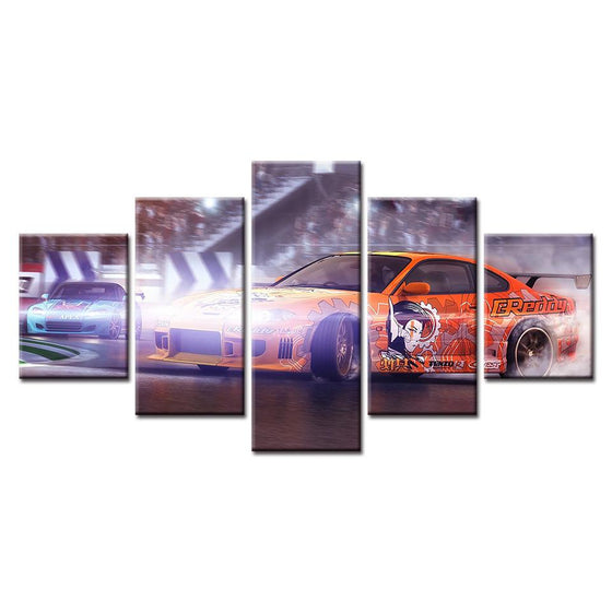 NFS Drift Race Canvas Art