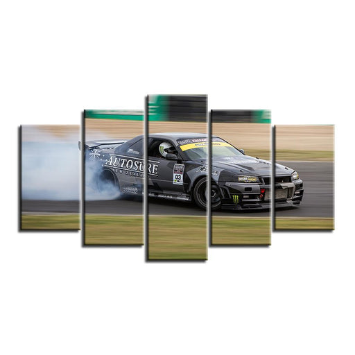 Nissan Skyline R34 Canvas Art