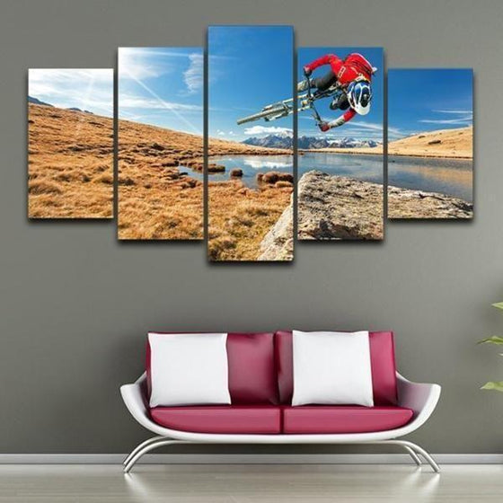 Nursery Wall Art Sports Themed Canvas