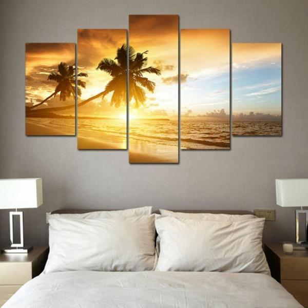 Ocean Wall Art Sunset Prints