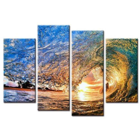 Ocean Waves Wall Art