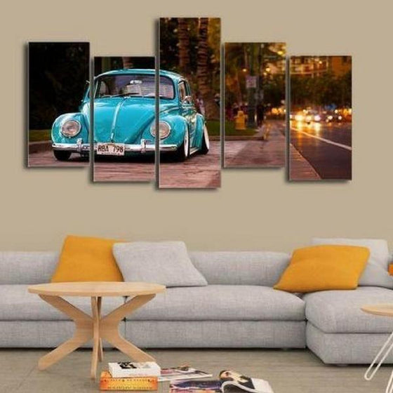 Old Car Wall Art Decor