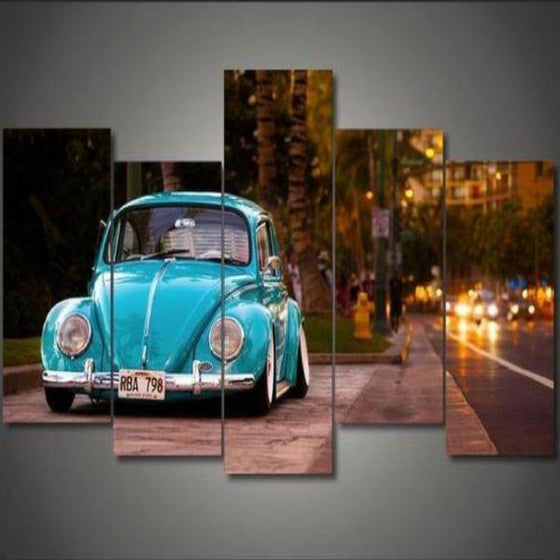 Old Car Wall Art Decors