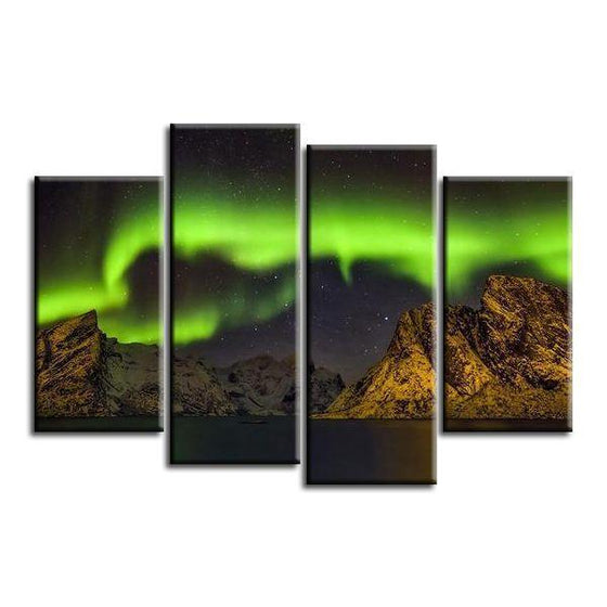Olstind Mountain Canvas Wall Art