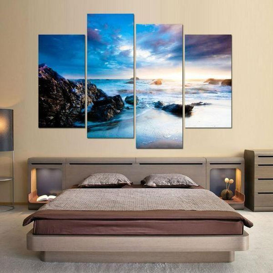 Outdoor Metal Wall Art Beach Themed Decor