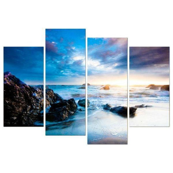 Outdoor Metal Wall Art Beach Themed Decors