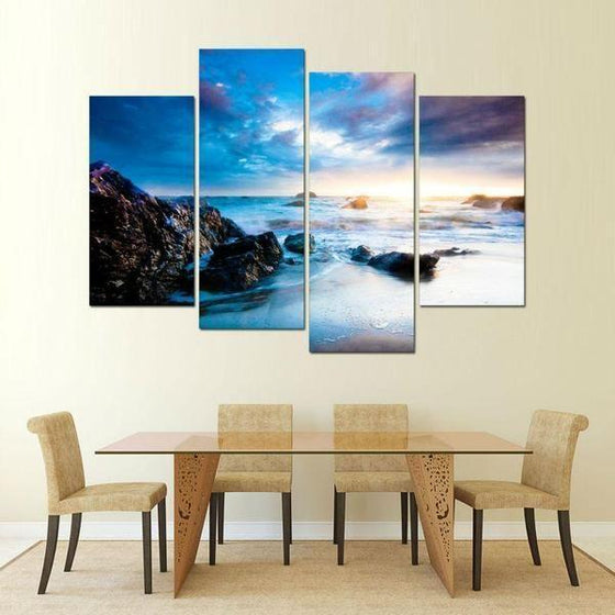 Outdoor Metal Wall Art Beach Themed