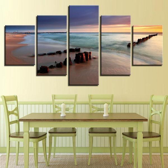 Outdoor Wall Art Beach Theme Decor