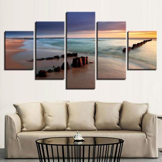 Outdoor Wall Art Beach Theme
