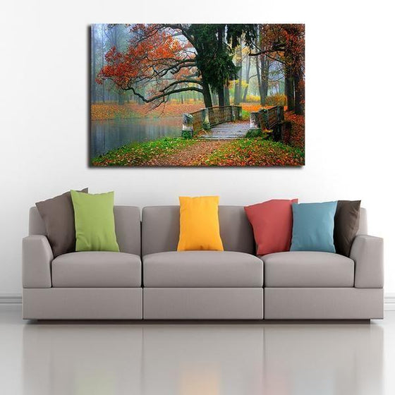 Park View Landscape Wall Art Living Room