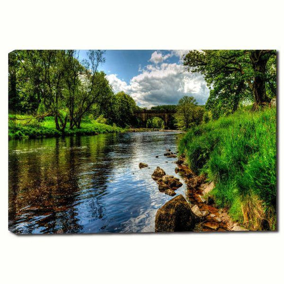 Peaceful River View Wall Art