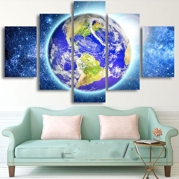 Planet Earth Wall Art