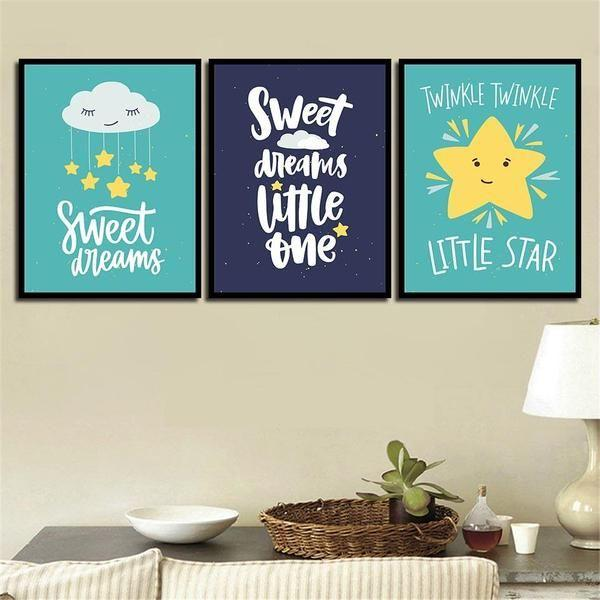 Positive Quotes Wall Art Canvas