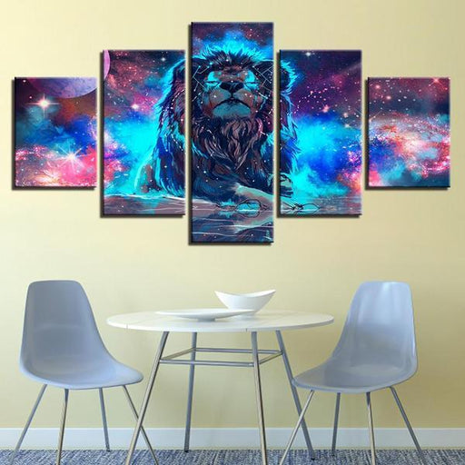 Powerful Lion Wall Art