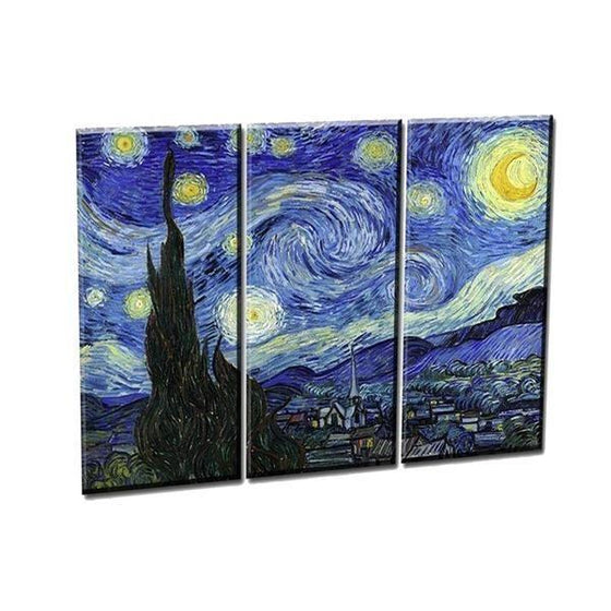 Print Van Gogh Starry Night Wall Art