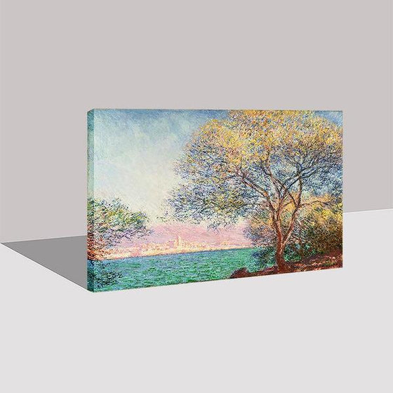 Antibes Morning By Claude Monet Canvas Wall Art Ideas