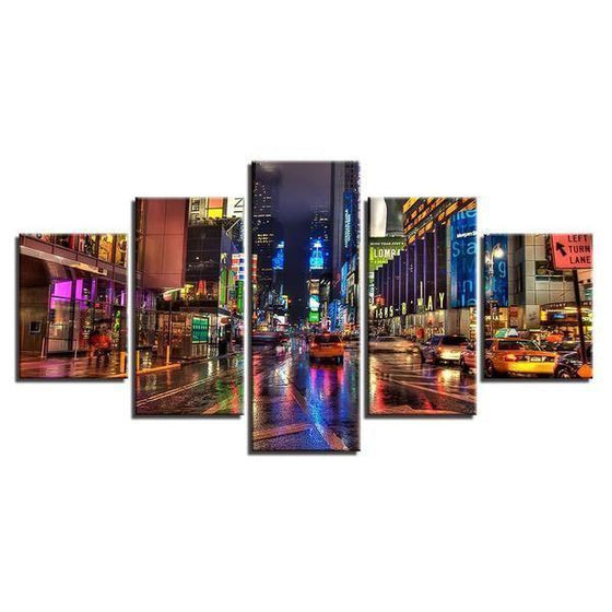 Queens New York Canvas Wall Art