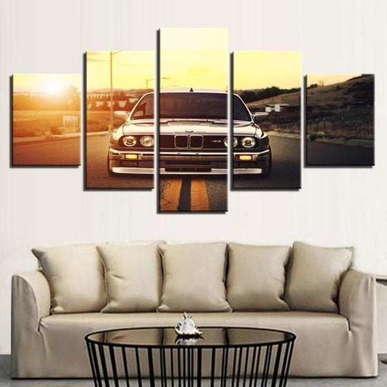 BMW M3 Canvas Wall Art Living Room