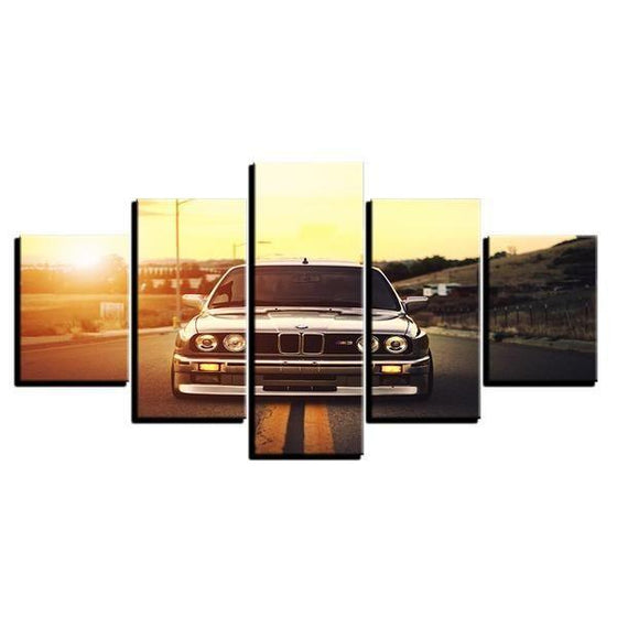 BMW M3 Canvas Wall Art Decor