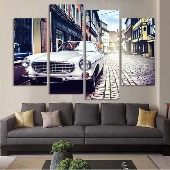 Real Car Wall Art Idea